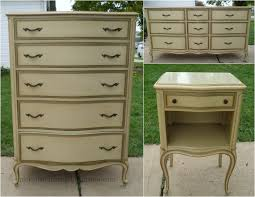 painted cottage furnitureNightstand  Simple French Country Nightstand Shabby Chic Night