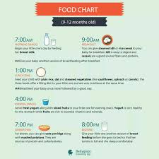 13 Month Old Baby Diet Chart 11 Month Baby Food Chart Www Bedowntowndaytona Com