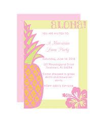 Hawaiian Party Invitation Chicfetti Free Printable Invitations