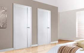 Simple Modern Interior Door Arazzinni Unica Bianco Nobile C Throughout Design
