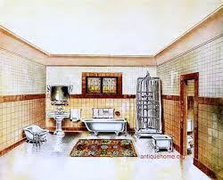 Fantasy Vintage Bathrooms::1912 Flickr Friends only content for November Q:  What are