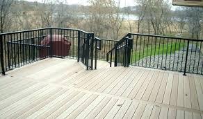 outdoor deck railing s optis options decoti outdoor deck railing lighting ideas