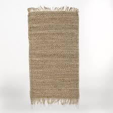 Прикроватный <b>коврик</b> из джута, ajan бежевый <b>La Redoute</b> Interieurs