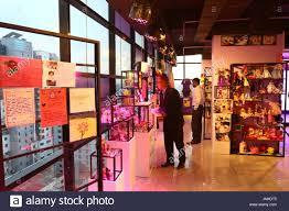 office space memorabilia. Visitors Look At The Memorabilia Of Abinta Kabir On Display In A Corner Office Space