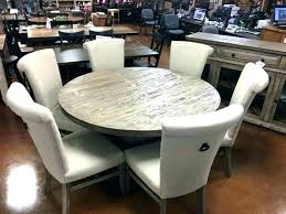 60 in round table inch round table set table 6 chairs white solid wood inch round