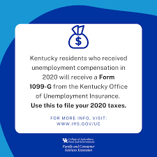 The kentucky office of unemployment insurance is aware of fraudulent emails soliciting payments to work ui claims. If You Received Unemployment Compensation In 2020 Be Sure To Complete And Submit A Form 1099 G To File Your 2020 Taxes The Kentucky Office Of Unemployment Insurance Will Send It Before You