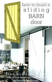 barn door look closet doors interior sliding designs uses styles kitchen table
