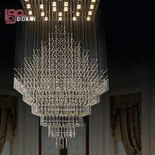 large modern foyer chandeliers new high quality crystal lamp pendant designer chandelier for hotel and home