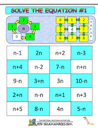 solve the equation game 1 instructions