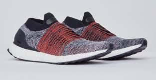 adidas ultra boost. adidas ultraboost laceless black/red (pair) ultra boost