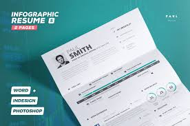 How To Make An Infographic In Word 65 Eye Catching Cv Templates For Ms Word Free To Download