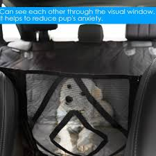 view mesh waterproof pet carrier car