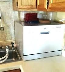 sunpentown countertop dishwasher dishwasher installation