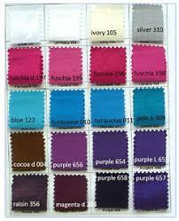 Details About Taffeta Stretch Fabric Color Chart Bridesmaid Dresses Suits Pants Decor