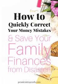 How To Quickly Correct Your Money Mistakes To Save Your