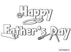 Word S Day Template Related Coloring Pageshappy Father S Day Coloringhappy Father S