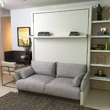 murphy bed with sofa. Murphy Bed Sofa Ideas With