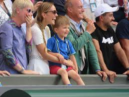 The coach this evening was saying how the djokovic camp is doing everything to. Novak Djokovic S Wife And Son Today After He Won The Men S Finals At Wimbledon His Son Was Adorable And Kept Saying That S Daddy Tennis