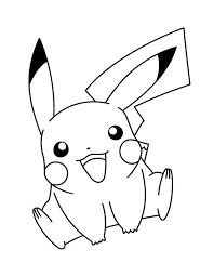 Pikachu Pictures To Print 48 Best Pokemon Coloring Images On