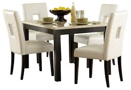 faux stone top dining table. homelegancela, inc - homelegance archstone 48 inch dining table with faux marble top stone