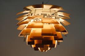 Vintage Artichoke ceiling lamp ...