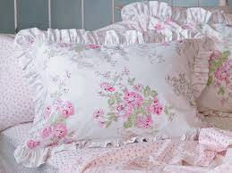 simply shabby chic bedding with white ceramic floor and small glass window for modern bedroom ideas