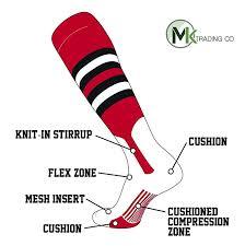 Amazon Com Tck Elite Baseball Knee High Stirrup Socks I