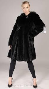 mink coat astrakhan black coat