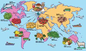 world food map  jane smith's blog