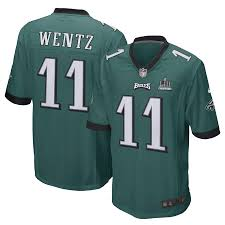 Champions Wentz Super Carson Men's Game Green Patch Bowl Nike Eagles Midnight Philadelphia Lii Jersey deeccceec|Washington Redskins At Chicago Bears, October 6, 2019