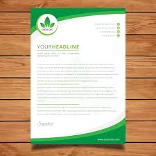 Business Pad Design Vector Best Letter Pad For Business Graphicdesign Pad Business