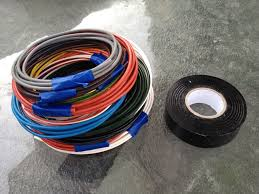 re wiring the 860gt club bevel heaven stash of wire yes it only took a couple days to get here they had it cut and shipped the same day in hours the black tape is not tape but wire