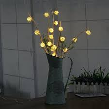 led branch vase table lights garden twig solar tree small colored lamp uk solar tree lighting