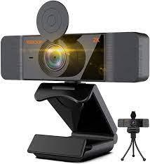 Aode Webcam HD 2K Web Camera with Microphone Computer: Amazon.de: Computers  & Accessories