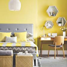 Grey And Yellow Living Room Design Bedroom Colour Schemes Ideal Home