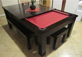 It's the age-old pool table vs. dining room table conundrum: you want a pool  table, but there just isn't room for one. Luckily, the chairs and table at  the ...