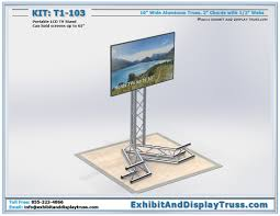 Portable Stands For Display Truss Monitor Stands For Trade Show Display Exhibits 17