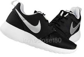nike running shoes for girls black and white. nike roshe run black and white for girls running shoes e