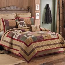 cabin style bedding. Wonderful Cabin Big Sky Quilted Bedspread Collection Throughout Cabin Style Bedding