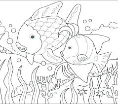 rainbow fish coloring printable pages of free page template rainbow fish coloring pages sheet page for free story preers