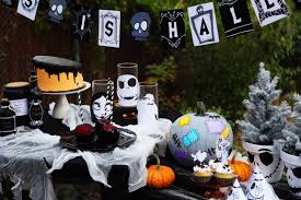 Jack Skellington Decorations Halloween The Nightmare Before Christmas Party Disney Family
