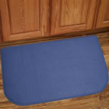 Foam Kitchen Floor Mats Memory Foam Anti Fatigue Kitchen Floor Mat Honeycomb Blue