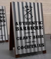 corrugated iron a board