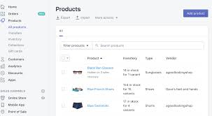 Shopify Size Chart Shopify Review How To Build A Shopify Ecommerce Site
