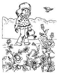 Gratis Meisjes Kleurplaten Voor Kinderen 6