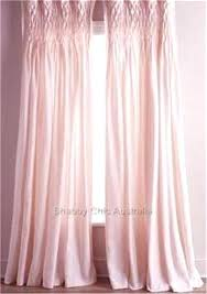 Pink Bedroom Curtains Girls Pink Smocked Shabby Rod Pocket Window Curtains  Drapes Kids Cotton Blue Walls Pink Curtains