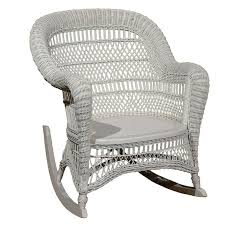 wicker rocking chair. Heywood Wakefield Wicker Rocking Chair For Sale