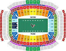 Reliant Seating Chart Texans Houston Texans Houston Reliant Stadium Sports Tickets For
