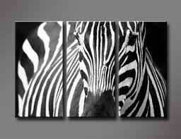 3 panel quality white zebra directly from china art pictures suppliers black and white zebra 3 panels set hd canvas print painting artwork