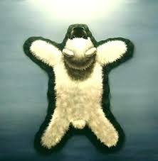 teddy bear rug faux polar bear rug bearskin rug teddy bear skin rug faux bear skin
